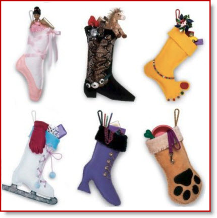 20 Christmas stockings