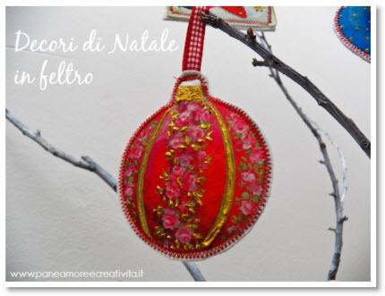Linda's felt decorations