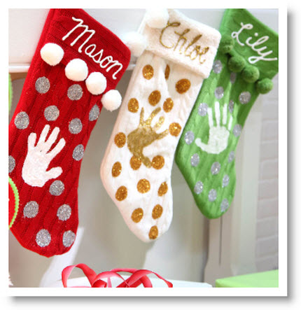 Monogrammed Memories Stockings