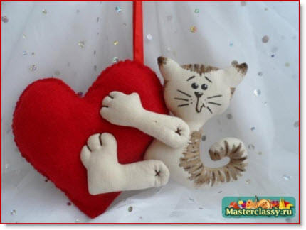 Cat Heart Valentine