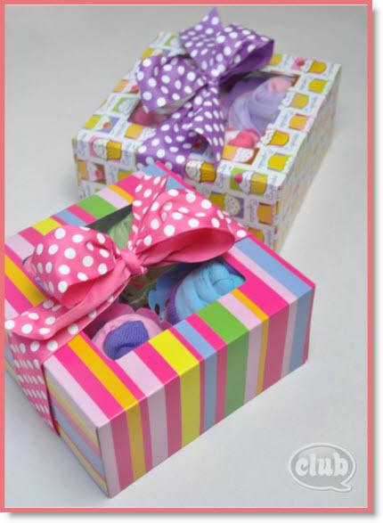 Cupcake Gift Box for Tweens DIY