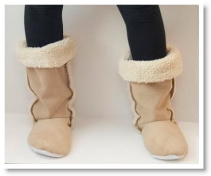 DIY Sherpa Boots? Oh Yeah tutorial