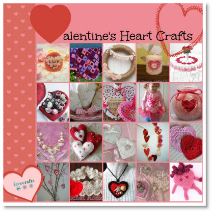 Valentine's Day Heart Crafts