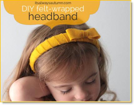 child's headband
