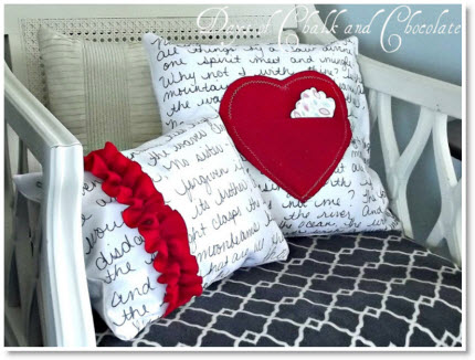 Love Note Pillows and a Question Tutorial