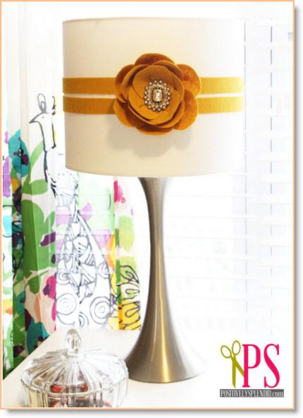 poppy flower lamp
