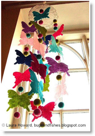 bug fishes hanger