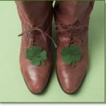shoe shamrock