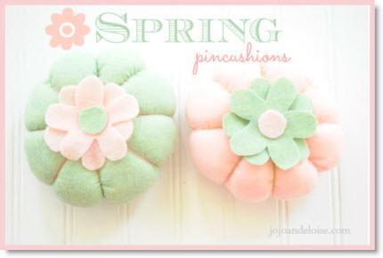spring pin cushions