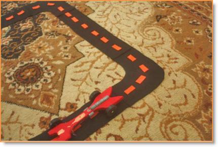 Felt Car Track