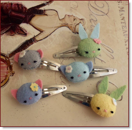 Sweet Animal Barrette