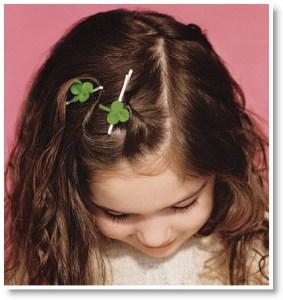 clover hairpins
