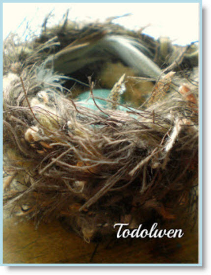 felted nest