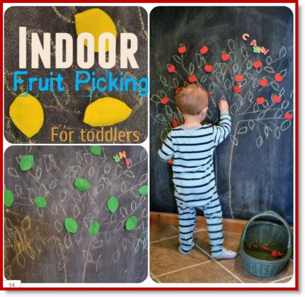indoor fruit picking