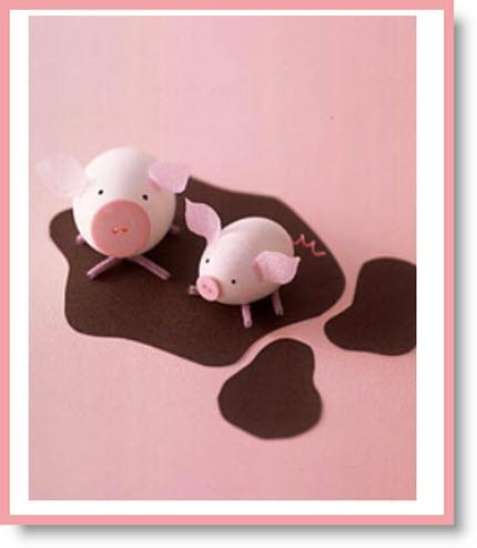 pig eggs