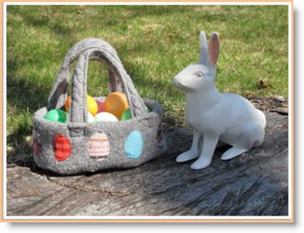 sweater Easter Basket