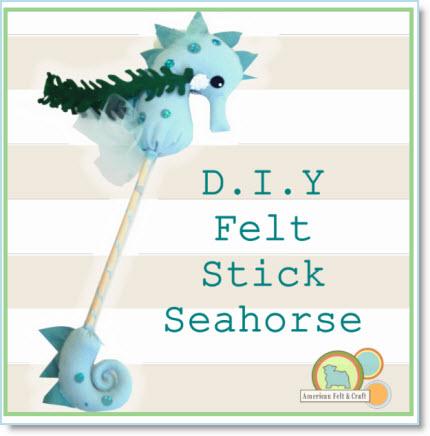 Seahorse Stick Hobby Horse