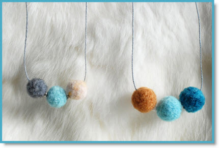 Wooly Moly: 24 DIY Felt Projects