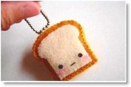 felt toast