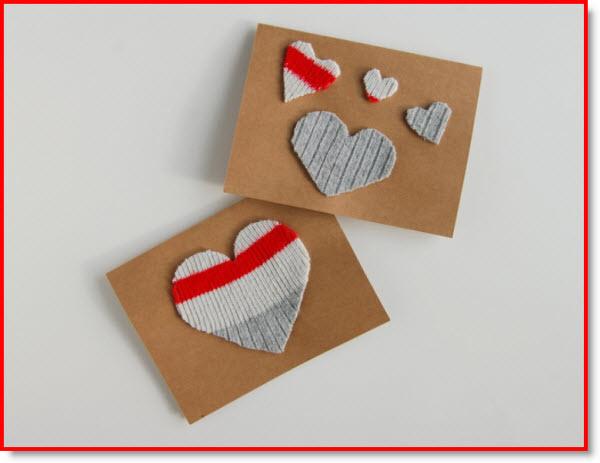 wool sock cards
