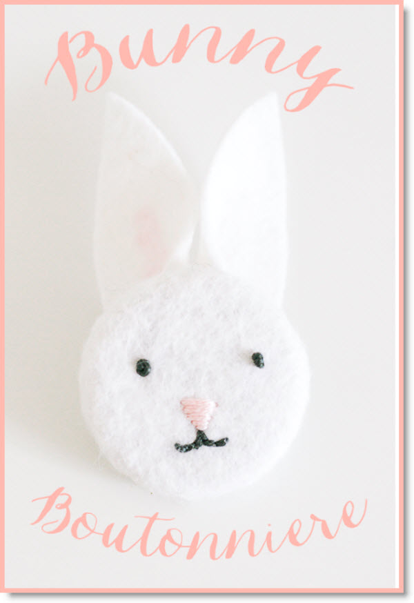 Bunny Boutonnieres