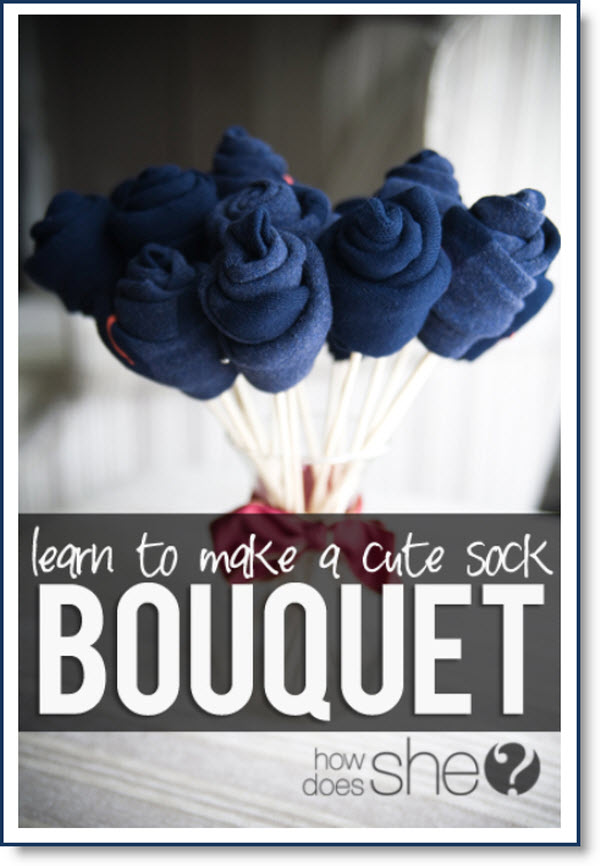 Sock Bouquet