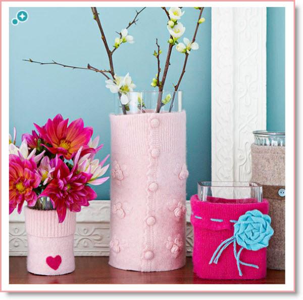 Valentine Vases