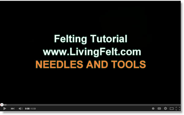 felting tools