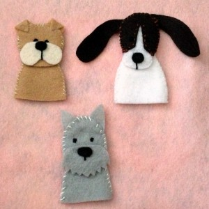 8 Fun DIY Patterns For Felt Finger Puppets – Felting