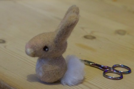 Needle Felted Bunny Tutorial For Beginners