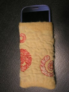 Front of Phone Sleeve