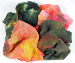 hand dyed cheesecloth - Ruth Lane - small image
