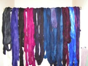 Wool Snakes in the Bathroom