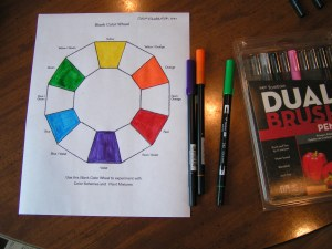 Adding Secondary Colors to Color Wheel