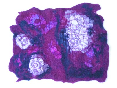 Nuno Felted Paper Fabric Lamination, Ruth Lane