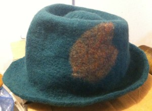 fedora befor sewing