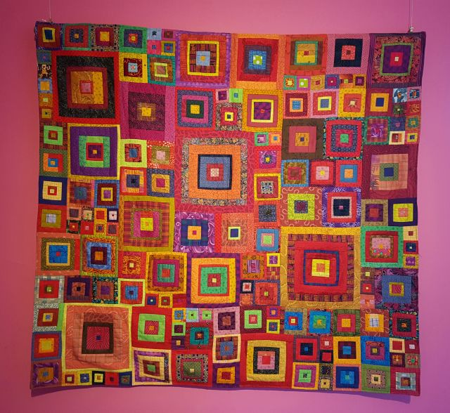Kaffe Fassett Exhibition at Mottisfont