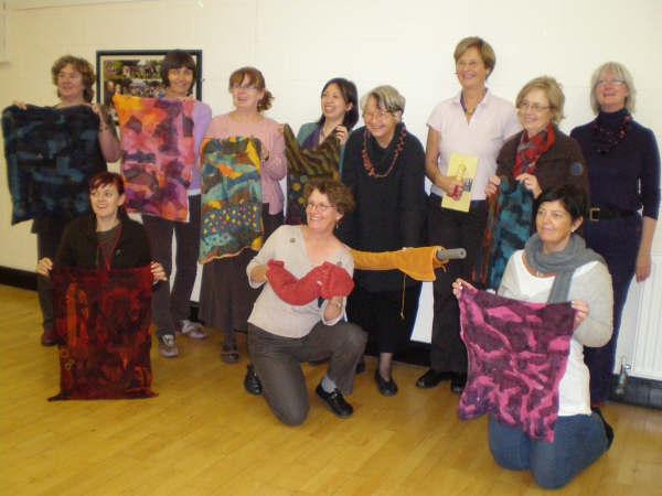 Sigrid Bannier's workshop in Dublin