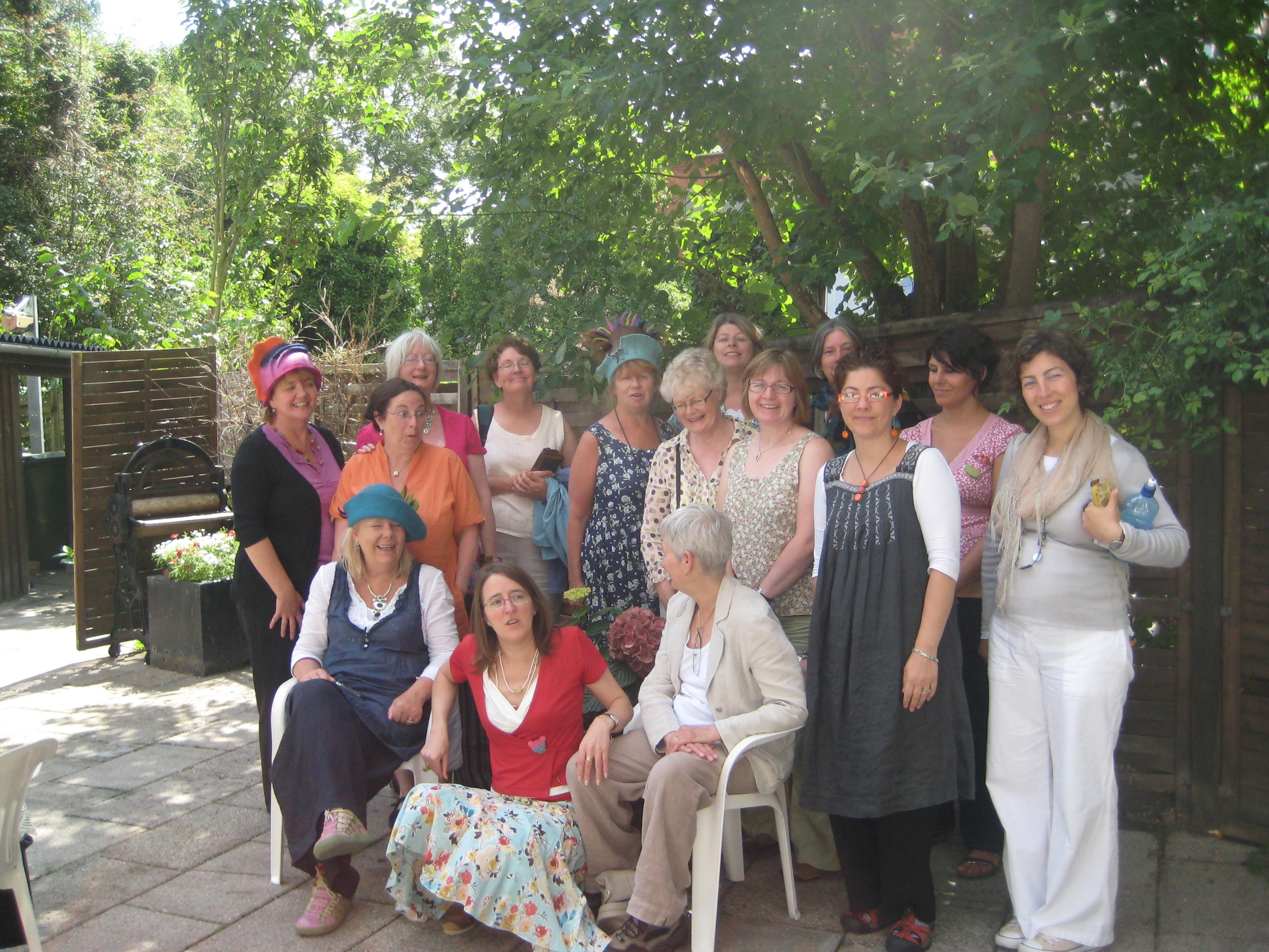 """Some of the Irish participants in """"Felt in Focus"""""""