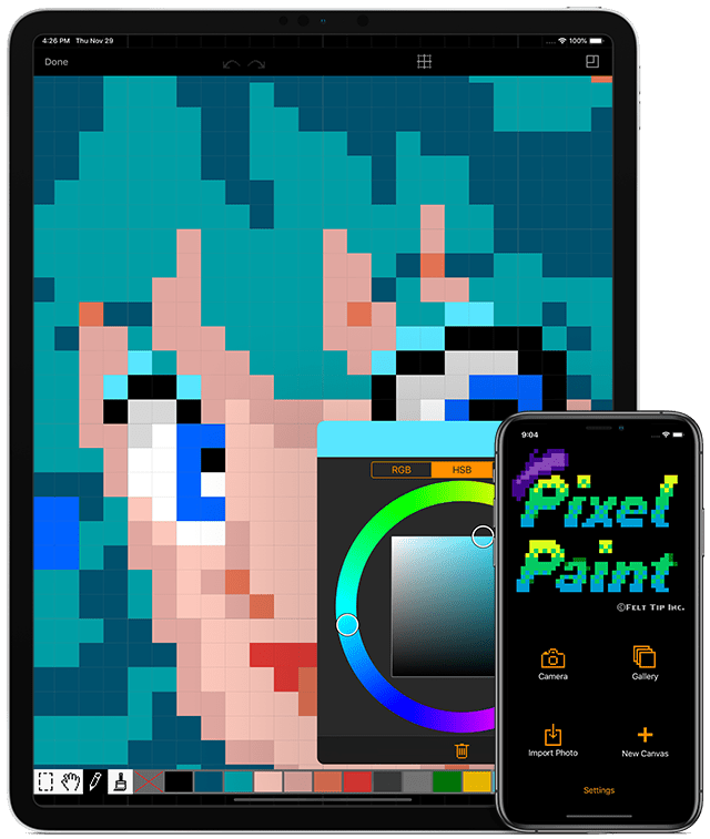 Pixel Paint for iOS