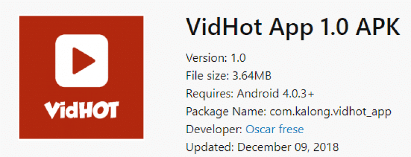Vidhot Apk V Download For Android Live Streaming Video