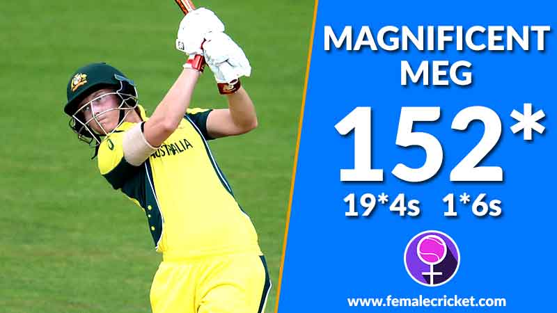 Meg Lanning's brilliant 152 brings second victory for Southern Stars
