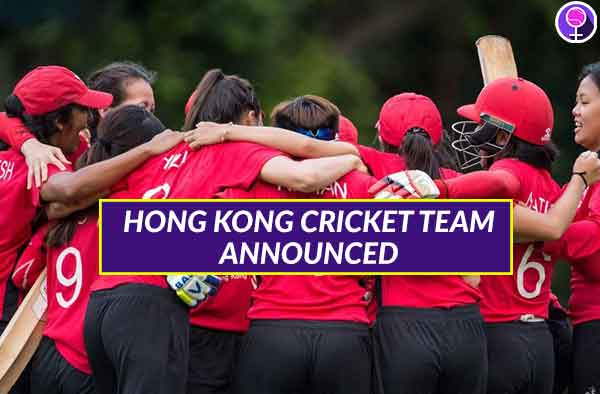 Announced - Hong Kong Women's National Cricket Squad for ICC World T20 Asia Region Qualifiers