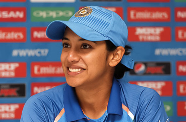 Smriti Mandhana Female Cricket