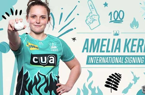 Amelia Kerr Brisbane Heat WBBL
