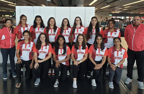 austrian women's national cricket team picture