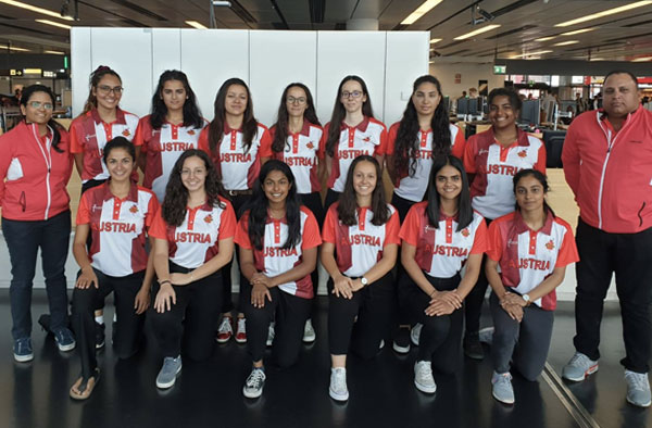 austrian women's national cricket team picture