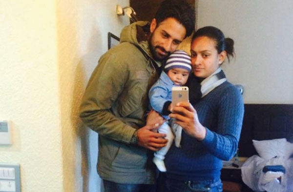 Harpreet with her family