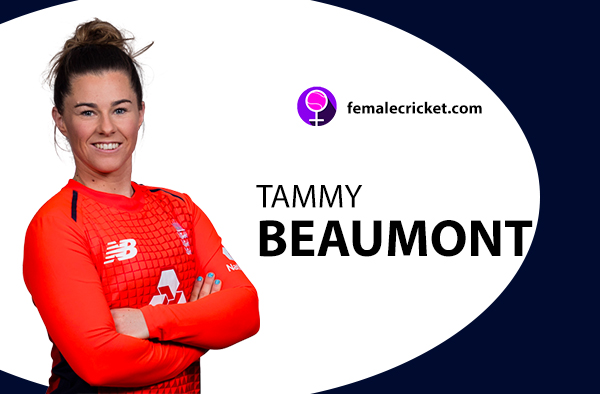Tammy Beaumont. Women's T20 World Cup 2020