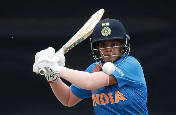 Shafali Verma. Pic Credits: ICC